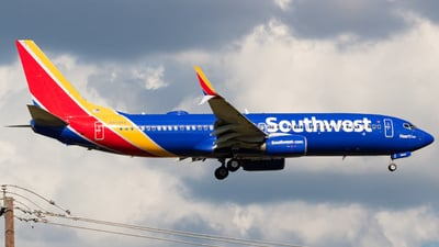 A picture of N8645A - Boeing 7378H4 - Southwest Airlines - © Saul Hannibal