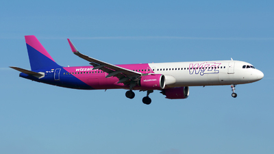 HA-LVB - Airbus A321-271NX - Wizz Air