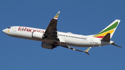 A picture of ETAVM - Boeing 737 MAX 8 - Ethiopian Airlines - © ErezS