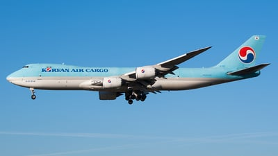 HL7617 - Boeing 747-8B5F - Korean Air Cargo