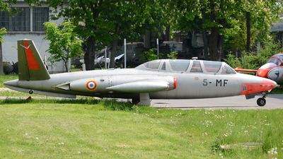 458 - Fouga CM-170 Magister - France - Air Force