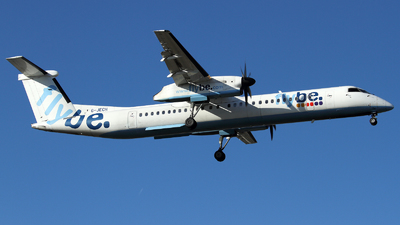 G-JECH - Bombardier Dash 8-Q402 - Flybe