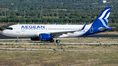 A picture of SXNEO - Airbus A320271N - Aegean Airlines - © John Leivaditis