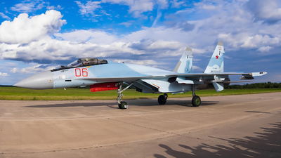 RF-95850 - Sukhoi Su-35S - Russia - Air Force