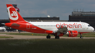 D-ABGN - Airbus A319-112 - Air Berlin
