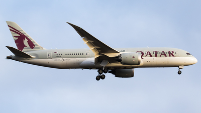 A7-BCD - Boeing 787-8 Dreamliner - Qatar Airways