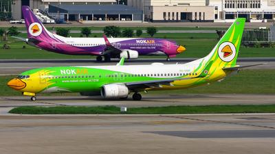 A picture of HSDBR - Boeing 73786N - Nok Air - © Stefano R