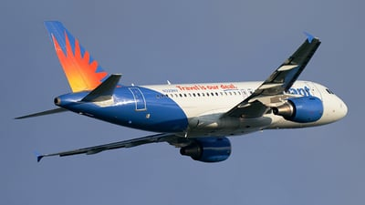 A picture of N329NV - Airbus A319111 - Allegiant Air - © BF Nestico