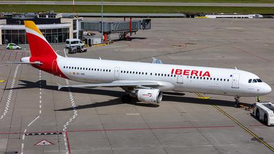 A picture of ECJGS - Airbus A321213 - Iberia - © Kurt Greul