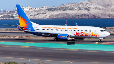A picture of GJZBE - Boeing 7378MG - Jet2 - © Román A. Pérez