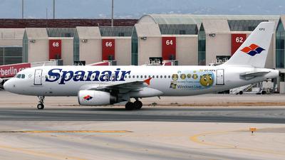 EC-KPX - Airbus A320-232 - Spanair