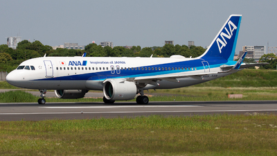 JA212A - Airbus A320-271N - All Nippon Airways (ANA)