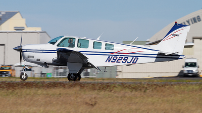 N929JD - Beech A36 - Private