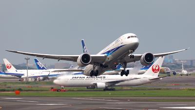 JA933A - Boeing 787-9 Dreamliner - All Nippon Airways (Air Japan)