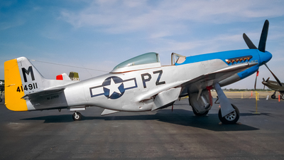 NL2501D - North American P-51D Mustang - Private