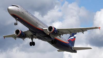VQ-BOI - Airbus A321-211 - Aeroflot