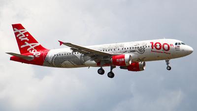 9M-AQH - Airbus A320-216 - AirAsia