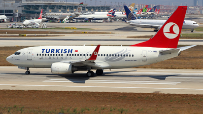 TC-JKN - Boeing 737-7GL - Turkish Airlines