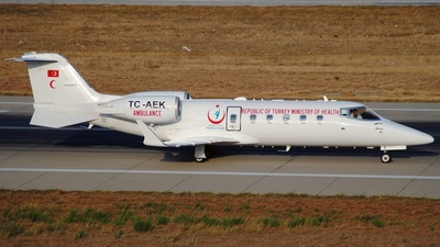 TC-AEK - Bombardier Learjet 60 - Turkey - Ministry of Health