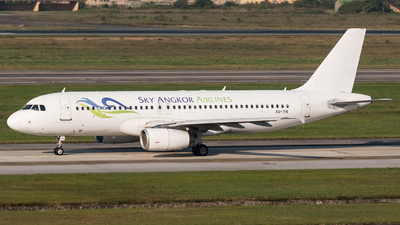 XU-715 - Airbus A320-233 - Sky Angkor Airlines