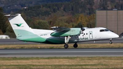 A picture of LNWSC - De Havilland Canada Dash 8200 - Wideroe - © Erlend Karlsen
