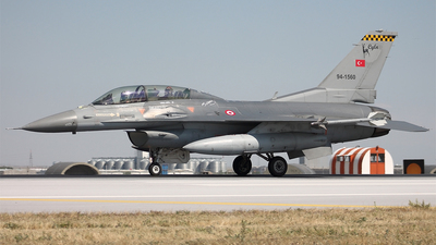 94-1560 - Lockheed Martin F-16DJ Fighting Falcon - Turkey - Air Force