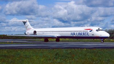 ZS-OBF - McDonnell Douglas MD-82 - Air Liberté