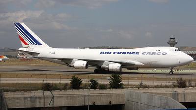 F-GIUD - Boeing 747-428ERF - Air France Cargo