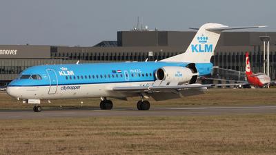 PH-KZG - Fokker 70 - KLM Cityhopper