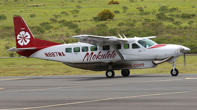 N887MA - Cessna 208B Grand Caravan EX - Mokulele Airlines