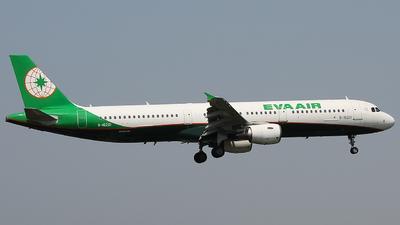 A picture of B16201 - Airbus A321211 - EVA Air - © Lacia_InoriXWB