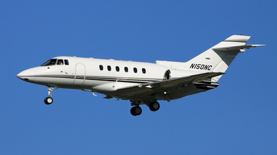 N150NC - Raytheon Hawker 800XP - Private