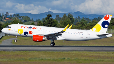 HK-5305 - Airbus A320-214 - VivaColombia