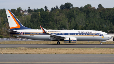 PH-AQF - Boeing 737-8Z6(BBJ2) - Thailand - Royal Thai Air Force