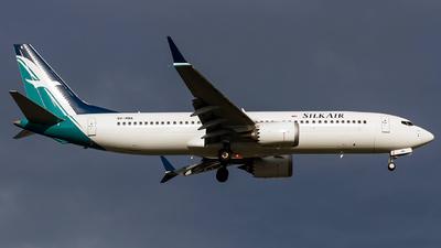 9V-MBA - Boeing 737-8 MAX - SilkAir