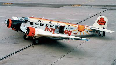 HB-HOY - CASA 352A-3 - Ju-Air