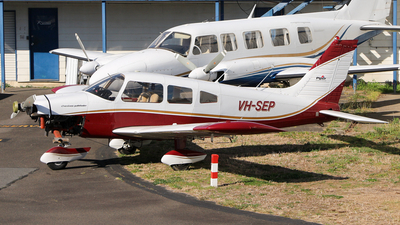 VH-SEP - Piper PA-28-235 Cherokee Pathfinder - Aero Club - Royal Queensland