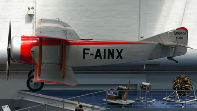 F-AINX - Caudron C-60 - Private
