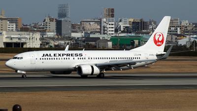 JA335J - Boeing 737-846 - JAL Express