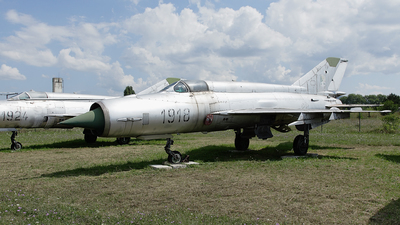 1918 - Mikoyan-Gurevich MiG-21R Fishbed H - Slovakia - Air Force