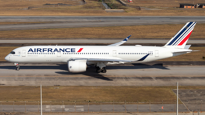 A picture of FHTYI - Airbus A350941 - Air France - © Giuliano Tulerman Spotting