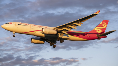 A picture of B5963 - Airbus A330243 - Hainan Airlines - © DS20020221