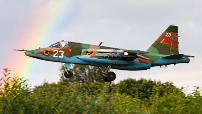 23 - Sukhoi Su-25 Frogfoot - Belarus - Air Force