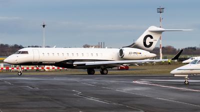 A picture of ECMMD - Bombardier Global Express XRS - Gestair - © Chris de Breun