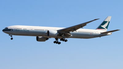 B-KPV - Boeing 777-367ER - Cathay Pacific Airways