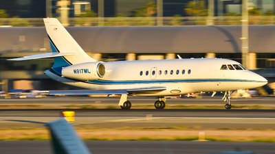 N917ML - Dassault Falcon 2000 - Private