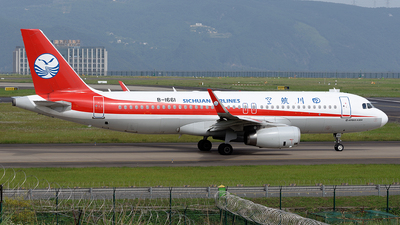 A picture of B1661 - Airbus A320232 - Sichuan Airlines - © BCG554