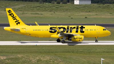 N651NK - Airbus A320-232 - Spirit Airlines