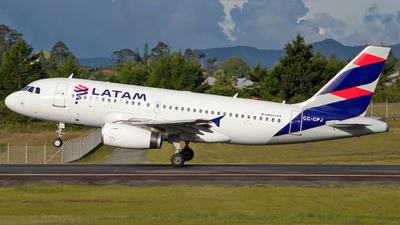CC-CPJ - Airbus A319-132 - LATAM Airlines