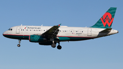 A picture of N838AW - Airbus A319132 - American Airlines - © Shon F